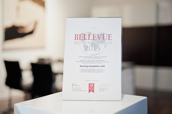 Auszeichnung Bellevue Best Property Immobilienmakler