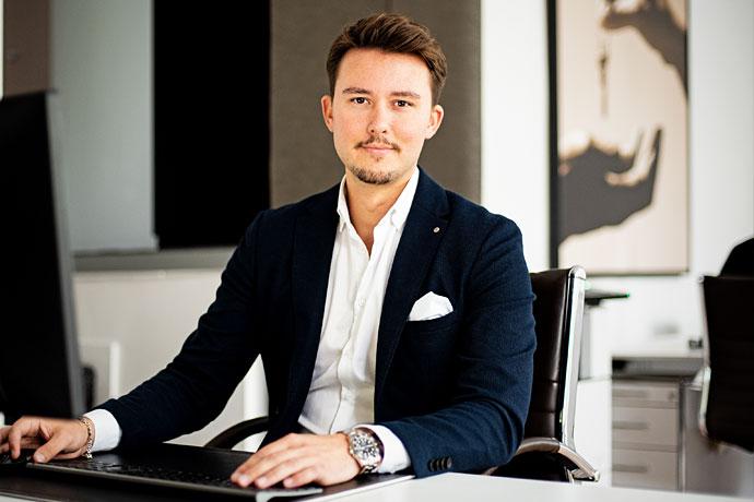 Florian Theissen von Kersting Immobilien