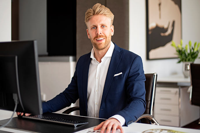 Kristopher Kersting von Kersting Immobilien