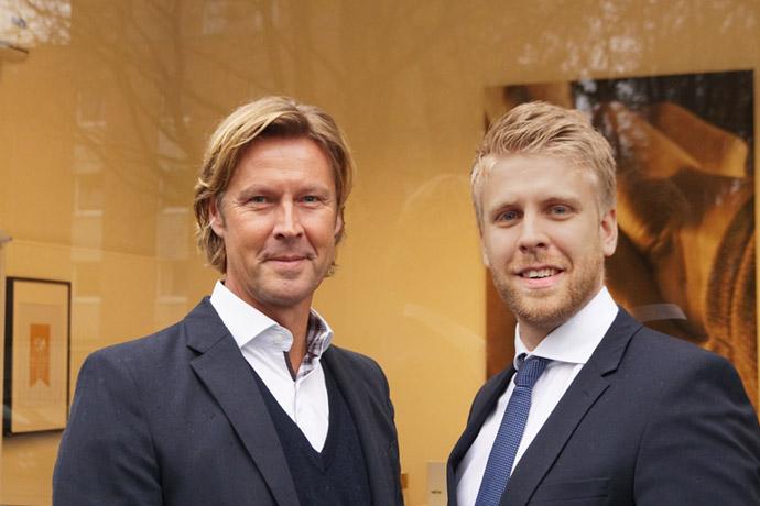 Immobilienmakler Kristopher und Martin Kersting von Kersting Immobilien